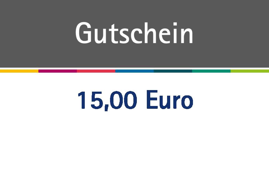 Gutschein über 15 Euro