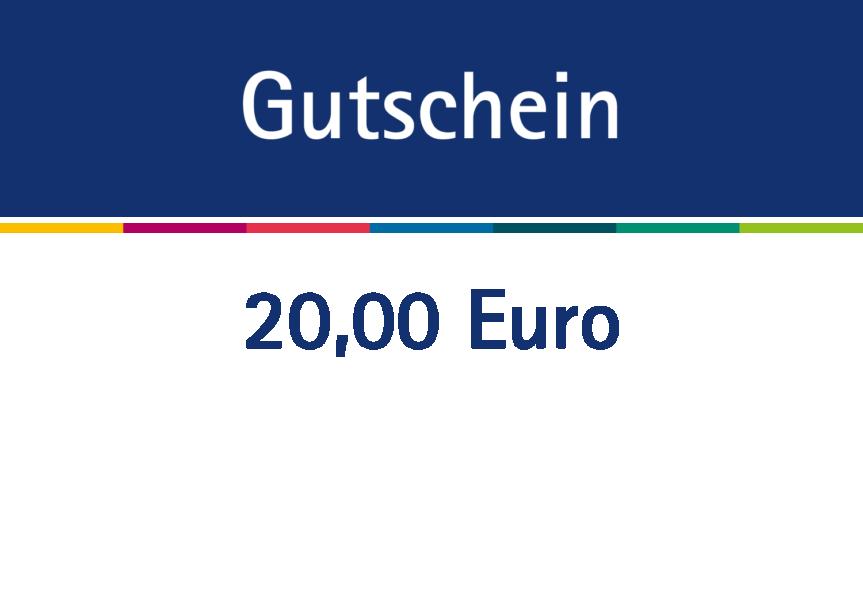Gutschein über 20 Euro